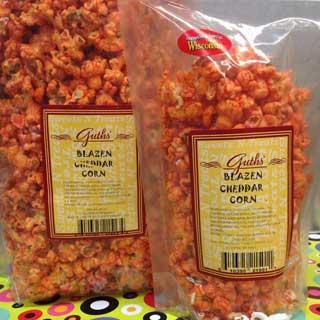 Blazen Cheddar Corn Guths Candy